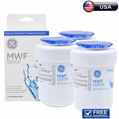Fits GE MWF SmartWater MWFP GWF Comparable Refrigerator Water Filter 1~3 Pack
