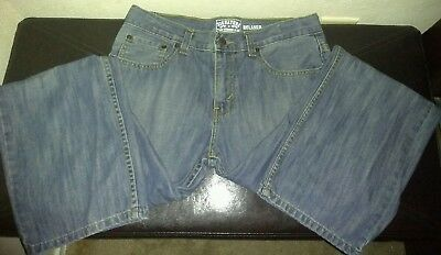 Signature By Levi Strauss Relaxed Boy's Jeans Adjustable Waist Size 16 Reg