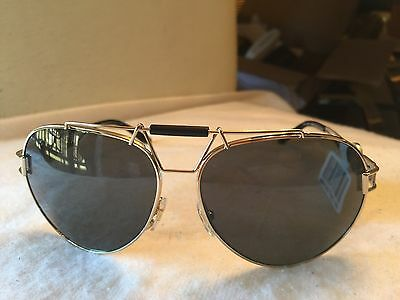 c7b721578 VERSACE Sunglasses VE 2160 1252/87 63-14 Gold & Black Aviator Frames NWT