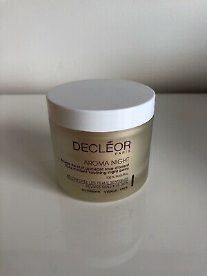 Decleor AROMA NIGHT AROMESSENCE ROSE D'ORIENT SOOTHING BALM 100ML Brand New
