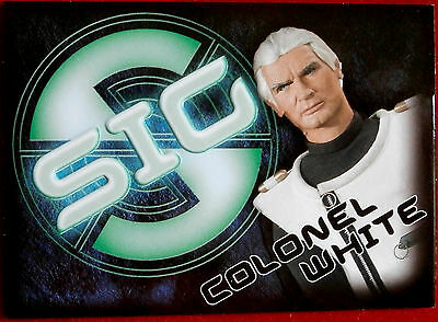 Captain Scarlet - COLONEL WHITE - SIG Embossed Chase Card SIG1