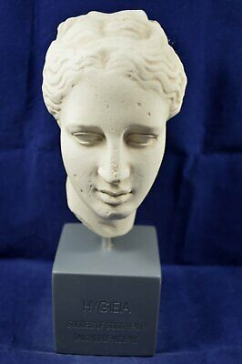Hygeia sculpture Ancient Goddess of health museum reproduction Hygieia bust