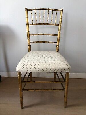 Gold Antique Chair Possibly Georgian