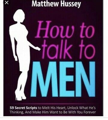 How to Talk to Men by Matthew Hussey Digital PDF Eb00k * Super Fast Delivery *