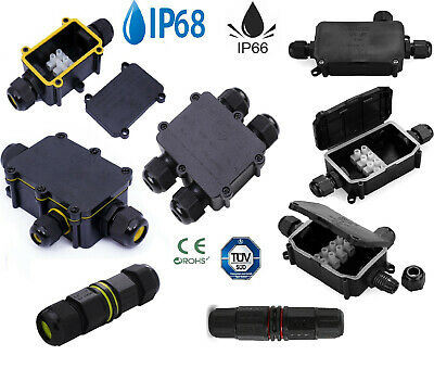 Waterproof Junction Box Electrical Cable Connector Outdoor IP66/IP68 Underground