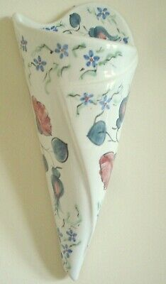 Buchan Scottish Pottery, Pair of Pretty Wall Vases - Immaculate Condition