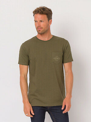 NEW Animal Mens Crafted Tshirt T-shirt Green