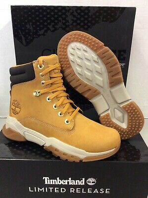 TIMBERLAND 6 INCHES City Force Wheat Mens Boots A1R6M, UK 7