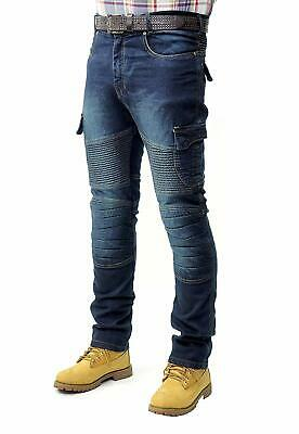 Prime Mens Motorcycle Jeans Protection Lining Motorbike Jeans MTB-02