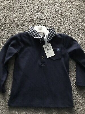 Junior J Jasper Conran Long Sleeved T-shirt 18-24 Months