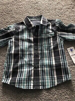Brand New Boys Nutmeg Shirt 18-24 Months