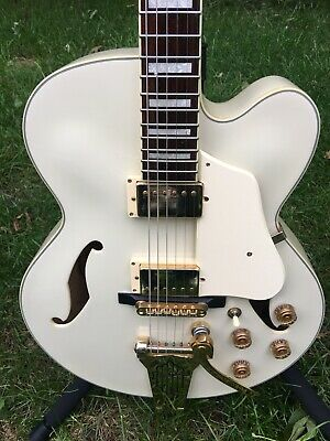 Ibanez Artcore AF75TDGIV AF75 Hollowbody Electric Guitar - Ivory *BEAUTIFUL*