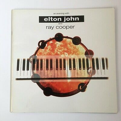 An Evening With Elton John And Ray Cooper Tour Programme 1993 Paperback