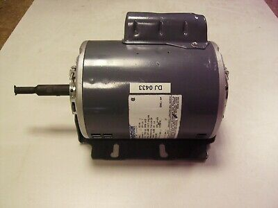Electric Motor, Factory Reconditioned,  240 voltage single phase 1/4 hp