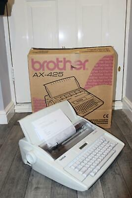 Boxed Brother AX-425 Electric Typewriter - 2 ref L69