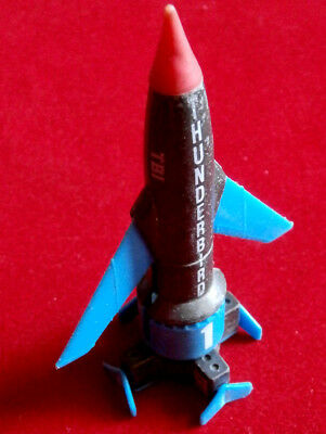 THUNDERBIRDS - Thunderbird 1 - 4 inches with foldable wings - MATCHBOX 1992