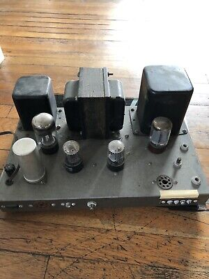 HEATHKIT W4 AM Tube Amplifier Chassis PARTS!