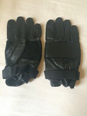 Leather Gloves Tactical Assault Padded XL Military SAS Police New RRP£85
