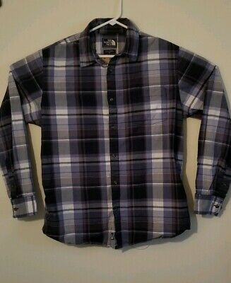 eec553d96 THE NORTH FACE Men's Shirt Plaid Long Sleeve Button Up Hiking ...