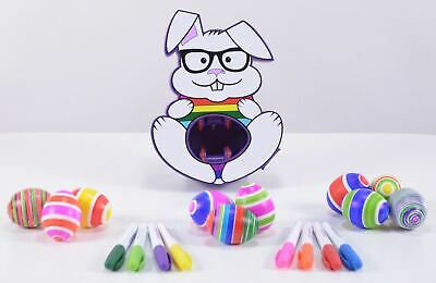 Hey Buddy Hey Pal The Bunny Eggmazing Egg Decorator Non Toxic Markers