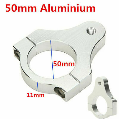 50MM CNC Steering Damper Stabilizer Bracket Fork Tube Mounting Clamp Motorcycle