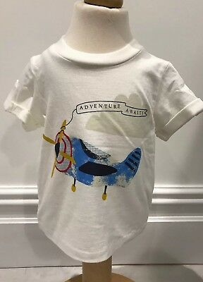 Brand New Baby Boys Marks And Spencer Cotton T Shirt Age 0-3 Months