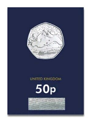2018 The Snowman Fifty Pence 50p Coin Brilliant Uncirculated BU UK
