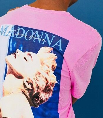 MADONNA TRUE BLUE - T SHIRT f. men by H&M, size: MEDIUM, off. merchandise, NEW!