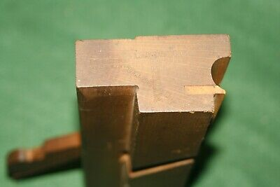 "19th C.,1865-67 SHIVERICK  7/8"" Boxed Side Bead Woodworking Bench Plane Inv#MK05"