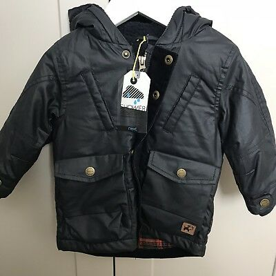 Brand New With Tags NEXT Boys Raincoat, Age 9-12 Months (RRP £28)