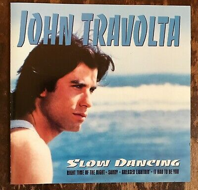 John Travolta (Pulp Fiction) Slow Dancing CD Let Her In Right Time Of The Night!