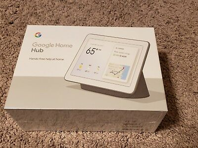Google GA00515-US Home Hub with Google Assistant - Chalk