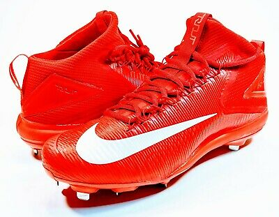 abef5c6c4 Nike Zoom Mike Trout 3 Red Metal Baseball Cleats Men s Size 11.5 MVP LA  Angels