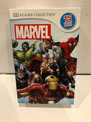 Marvel DK Reader Collection by Marvel