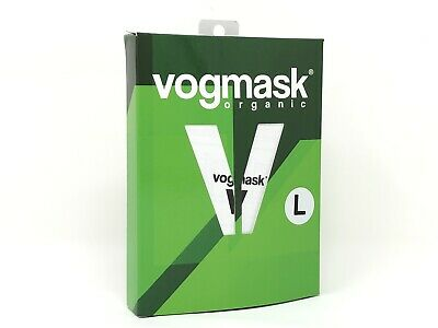 Vogmask Face Mask Large - Nose And Mouth Filter Dual Respirator Blue