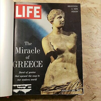 Life Magazine January February March 1963 Bound Book Alfred Hitchcock The Birds