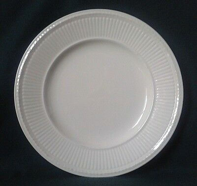 Wedgwood Edme Side Plate Queens Ware Bone China Sideplate Cream Ribbed Rim