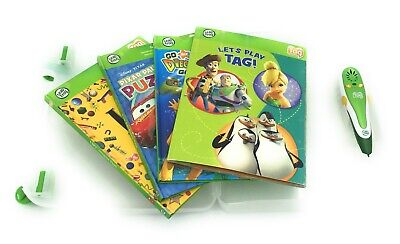 Leap Frog Tag Reader Case With 4 Books And Pen