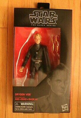 "IN HAND* Dryden Vos 79 Black Series Star Wars 6 inch"" Solo Movie 2019"