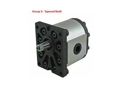 HYDRAULIC GEAR PUMP GROUP 3 DIN Mt, TAPERED SHAFT  VARIOUS CC's FREE POST AUST!.