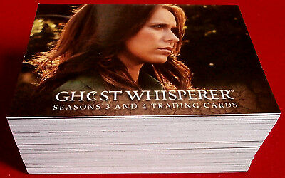 GHOST WHISPERER - Seasons 3 & 4 - Complete Base Set (72 cards) - Breygent 2010