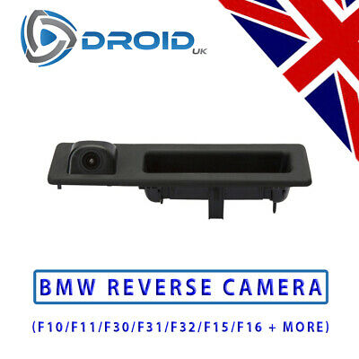 BMW Reversing Rear View Camera BMW 3 4 5 Series F10 F11 F25 F30 F31 Boot Handle