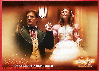Joss Whedon's FIREFLY - Card #22 - An Affair To Remember - Inkworks 2006