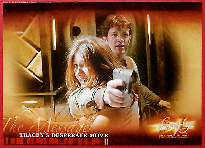 Joss Whedon's FIREFLY - Card #47 - Tracey's Desperate Move - Inkworks 2006