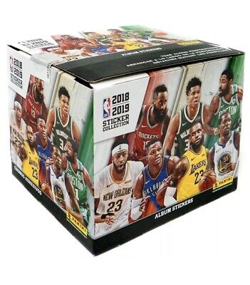 Panini 2018/2019 NBA Basketball Sticker Collection 50 x Packs Factory Sealed Box