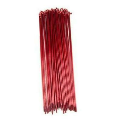 Mutiny BMX Double Butted Spokes 184mm - Red Spokes 50pc