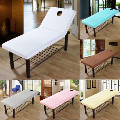 2X 190x70cm Beauty Massage Bed Table Elastic Cover Salon Spa Couch Cotton Sheet