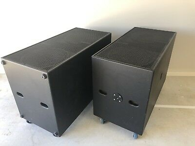 Subwoofers (pair) 2 x Double 18""