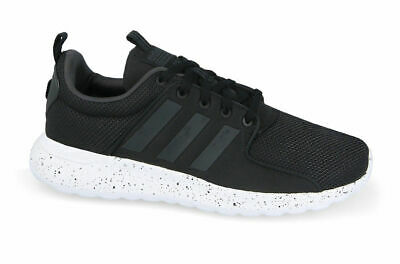 5c7afa56e975 Adidas NEO Cloudfoam Lite Racer DB0594 Men Casual Shoes Black-White 11 11.5