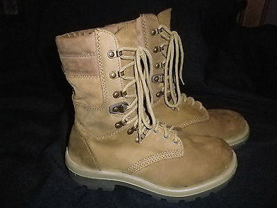 """295/110 (aus 11) Australian Army  Combat Boots LEATHER """"NEW"""""""
